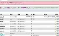 【原创文章】ecshop中mysql数据库总是出现#1062错误重复写入的可能原因和解决办法