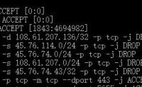 WDCP V3的iptables管理存在bug